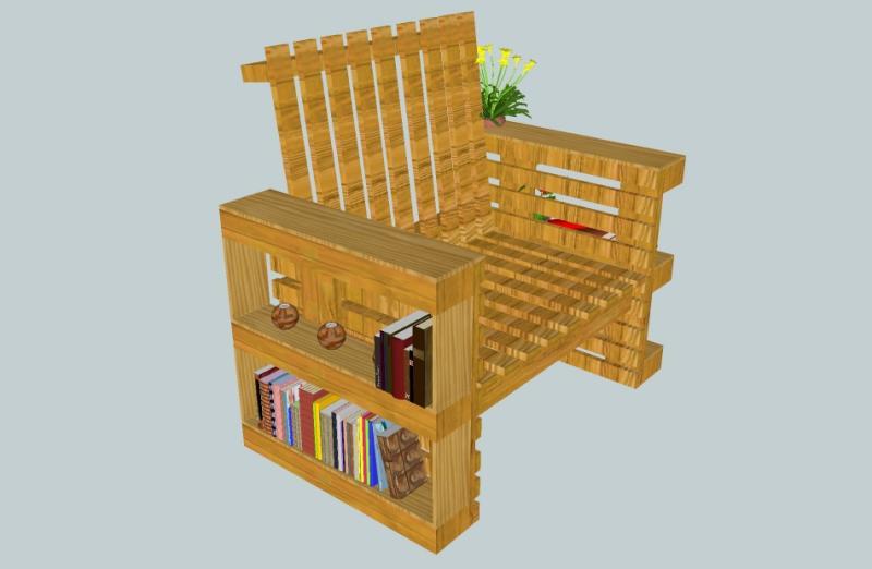 Mobilier de jardin virboe - Salon de jardin realise avec des palettes ...